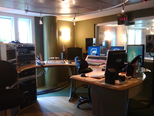 Le studio d'enregistrement © Kévin Amice