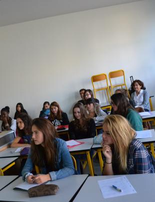 Les élèves © Thibault Dumas