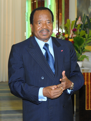 Paul Biya cc Commonwealth Secretariat