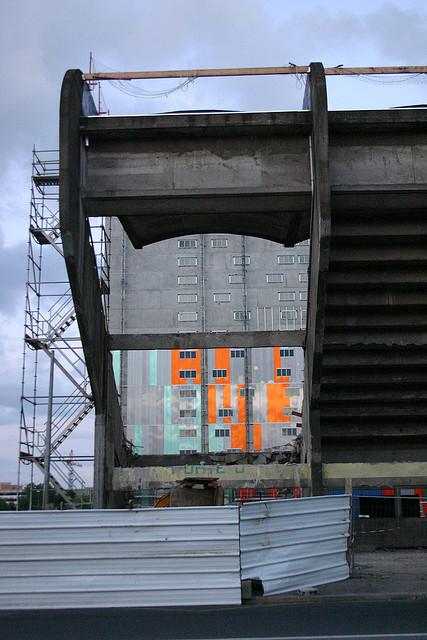 Le stade Marcel Saupin en juin 2008