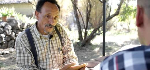 Pierre Rhabi chez lui dans les Cévennes ardéchoises, 2012 CC Alter Eco